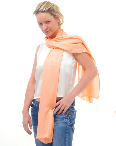 Long Silk Scarf