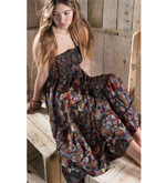 Long Tiered Katy Print Skirt or Dress